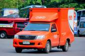 TNT Logistics Mini truck — Stock Photo