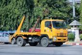 Caminhão de lixo — Fotografia Stock