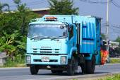 Garbage truck — Stock Photo