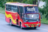 Bus at chiangmai — Stock Photo