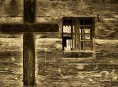 Wood church detail — Stock Photo