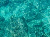 Turquoise sea water — Stock Photo