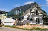 Shell of a detached house — Stock Photo