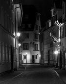 Rua à noite — Fotografia Stock