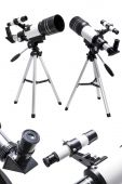 Telescope, eyepiece and viewfinder — Stock Photo
