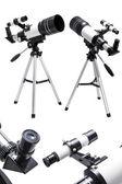 Telescópio, ocular e visor — Fotografia Stock