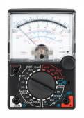Multi-function analog meter — Stock Photo