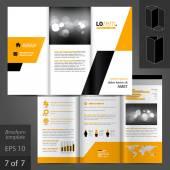 Broschyr mall design — Stockvektor