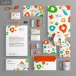 Corporate identity. Editable corporate identity template. Stationery template design — Stock Vector #54476079