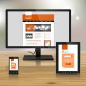 企业模板设计与应用 — 图库矢量图片