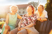 Senior women — Stock Photo