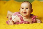 Cute baby girl — Stock Photo
