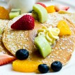 Pancake with fresh fruit — Stock Photo #57624367