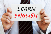 Learn English — Stock Photo