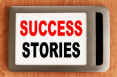 Success Stories — Stock Photo