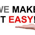 We make it easy ! — Stock Photo #56053701