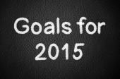 Goals for 2015 — Stockfoto