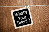 What Is Your Talent? — Stockfoto