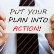 Put Your Plan Into Action — Stock Photo #63904577