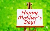 Gelukkige moederdag! — Stockfoto