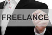 Freelance Concept — Stock Photo