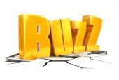 3d buzz concept — Zdjęcie stockowe