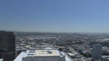 LAPD chopper — Stock Video