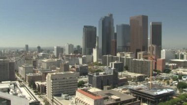 Time lapse of downtown LA — Stock Video