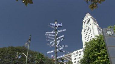 Sister Cities of LA — Stockvideo