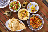 Middle Eastern food — Stock Photo