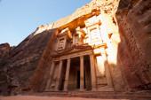 The Treasury, Petra — Stock Photo