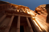 The Treasury, Petra — Stock Photo