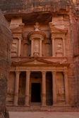 The Treasury, Petra, Jordan — Stock Photo