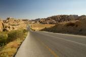 Road from Petra, Jordan — Stock Photo