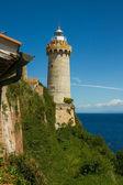 The lighthouse at the harbour of Portoferraio, Elba — Stock Photo