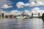HMS Belfast, London — Stock Photo
