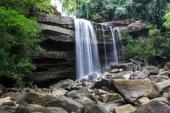 Thung Na Muang Waterfall — Stock Photo