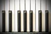 Piyano Klavye — Stok fotoğraf