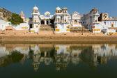 Lac de la ville de Pushkar, Inde — Photo