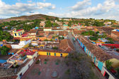 View of Trinidad, Cuba from up — Stock Photo