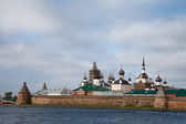 View of Solovetsky monastery — Stock Photo