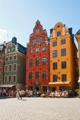 Stortorget i stockholm — Stockfoto