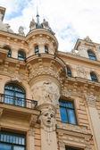 Art Nouveau style, Riga — Stock Photo