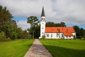 Iglesia de Sigulda, Letonia — Foto de Stock