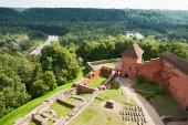 Turaida castle — Stock Photo