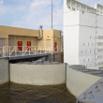 Saint Petersburg Flood Prevention Facility Complex — Stock Photo #71351533