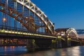 Peter the Great Bridge — Stock Photo