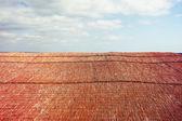 Bamboo roof — Stock Photo