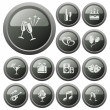 Party buttons — Stock Vector #54222217