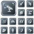 Space buttons — Stock Vector #54964027